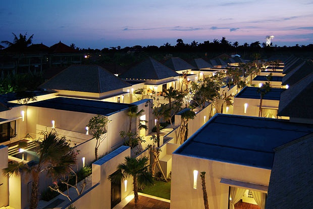 The Seminyak Suite from above.