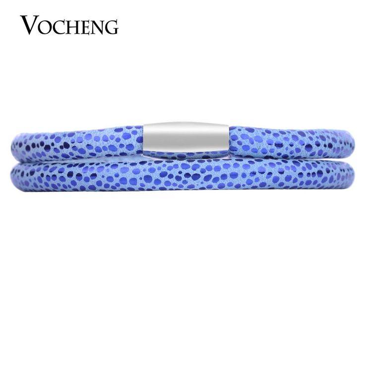 10Pcs/Lot Vocheng Endless Charms Bracelet Sheep Leather 4 Sizes Vc-20510