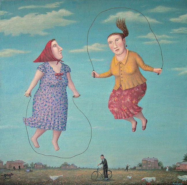 Pictures of Russian life - by Vladimir Lyubarov ~ Artodyssey: Vladimir Lyubarov…