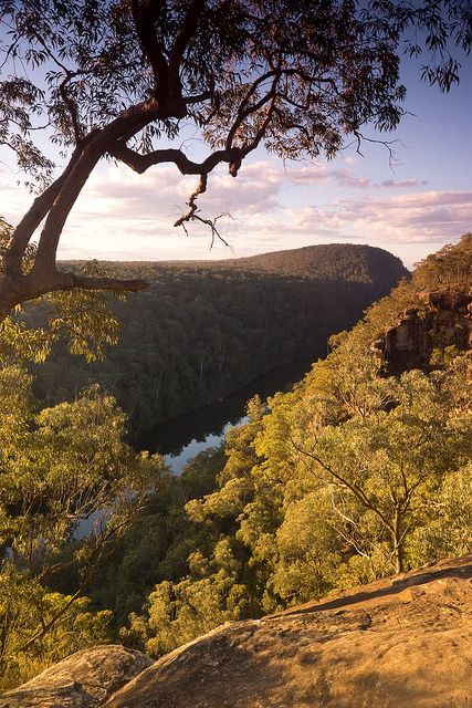 Nepean River Lookout |. Close to Penrith, N.S.W. Australia
