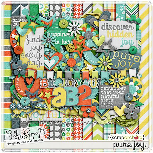 Pure Joy by Bella Gypsy, from the December 2014 Scrap Pack at Scrap Stacks http://scrapstacks.com/scrappack/