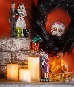 Day of the Dead decor is hauntingly beautiful! #DayoftheDead #Skeletons #Holidaydecor #Gordmans #GotItAtGordmans