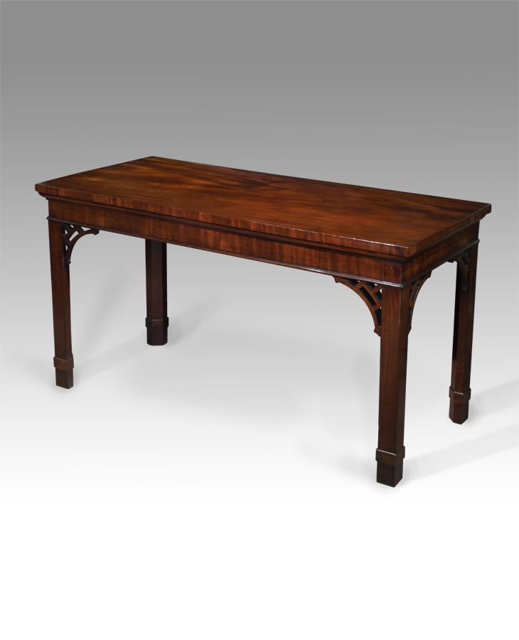 George III mahogany serving table