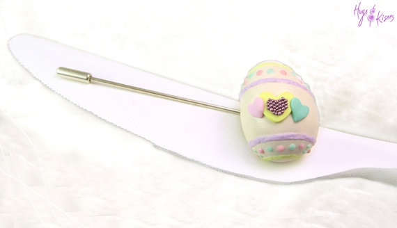 Easter White Chocolate Egg Brooch - Mini Food Jewelry