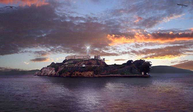 Alcatraz Island Alcatraz Island is located in San Francisco Bay, 1.25 miles (2.01 km) offshore from San Francisco, California, United States. The small island was developed with... #Attraction #Landmark #Museum  #Backpackers #Hostelman #Travel #Landmark