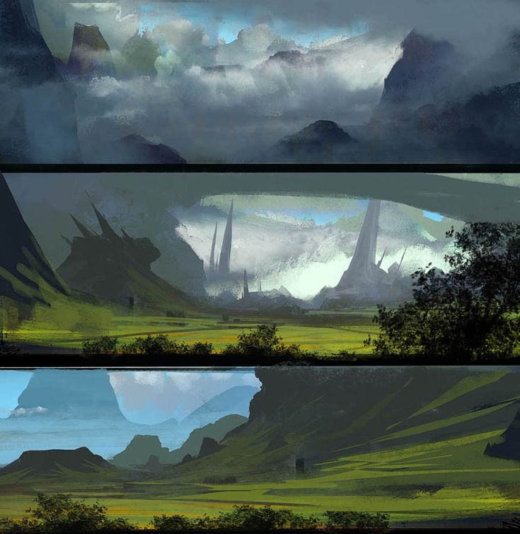Lanscape by ~paooo on deviantART
