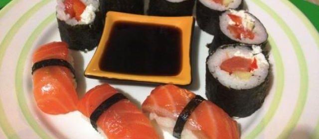 Нигири суши и роллы в домашних условиях