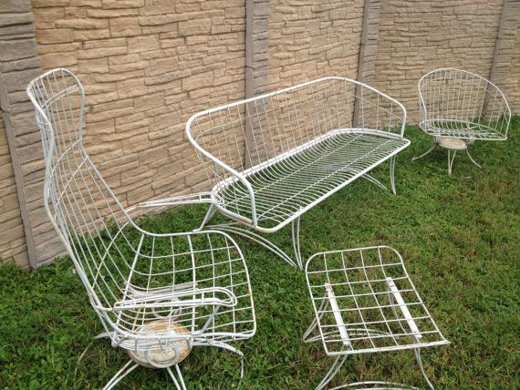 mid century patio | Vintage Mid Century Homecrest MaurizioTempestini Style Patio  Furniture . - 52 Best Vintage Mid Century Patio Furniture Images On Pinterest