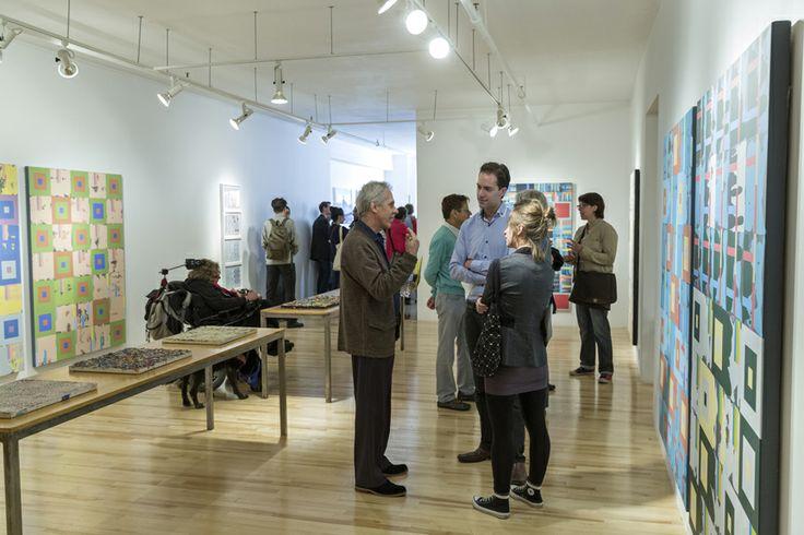 Vernissage de l'exposition solo « Tables d'écoute » de l'artiste Mario Côté / Automne 2013