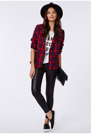 Missguided - Clarre Wet Look Leggings