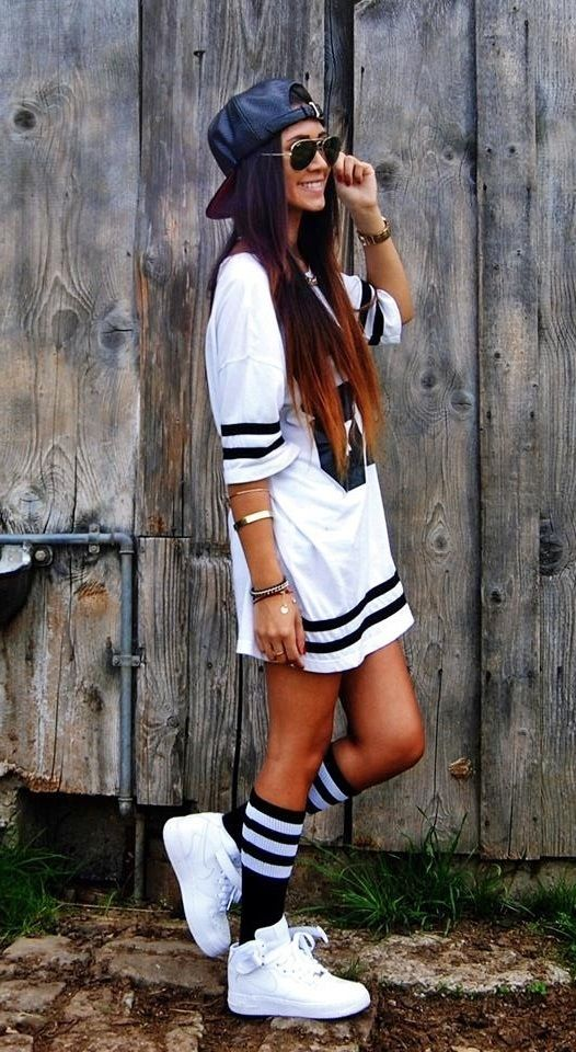 #jordans #girls,Might wear something like this to the Miley Cyrus concert?