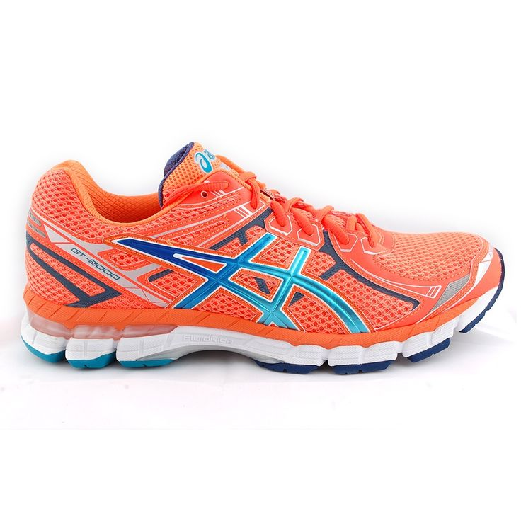 Tony Pryce Sports - Asics Gt-2000 Men's Light Show Running Shoes Orange | Intersport | Glow in the dark