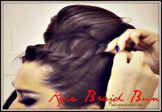 tHUMB+22 Korean Bun Hair Tutorial Video | Upside Down, French Rope Braid Updos
