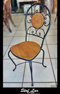 Stof Lar Decorações - Móveis em Madeira de Demolição : Cadeira modelo Arabesco