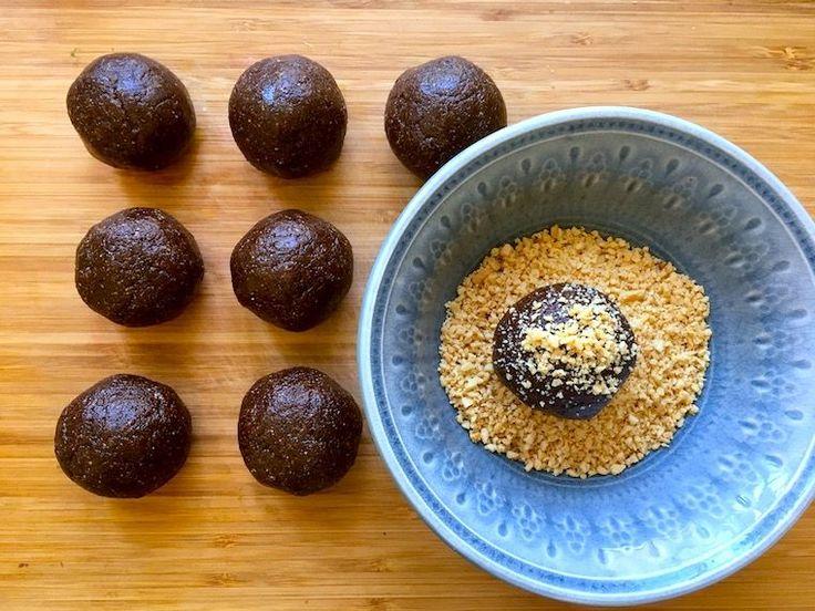 Galet goda (och nyttiga) Snickersbollar