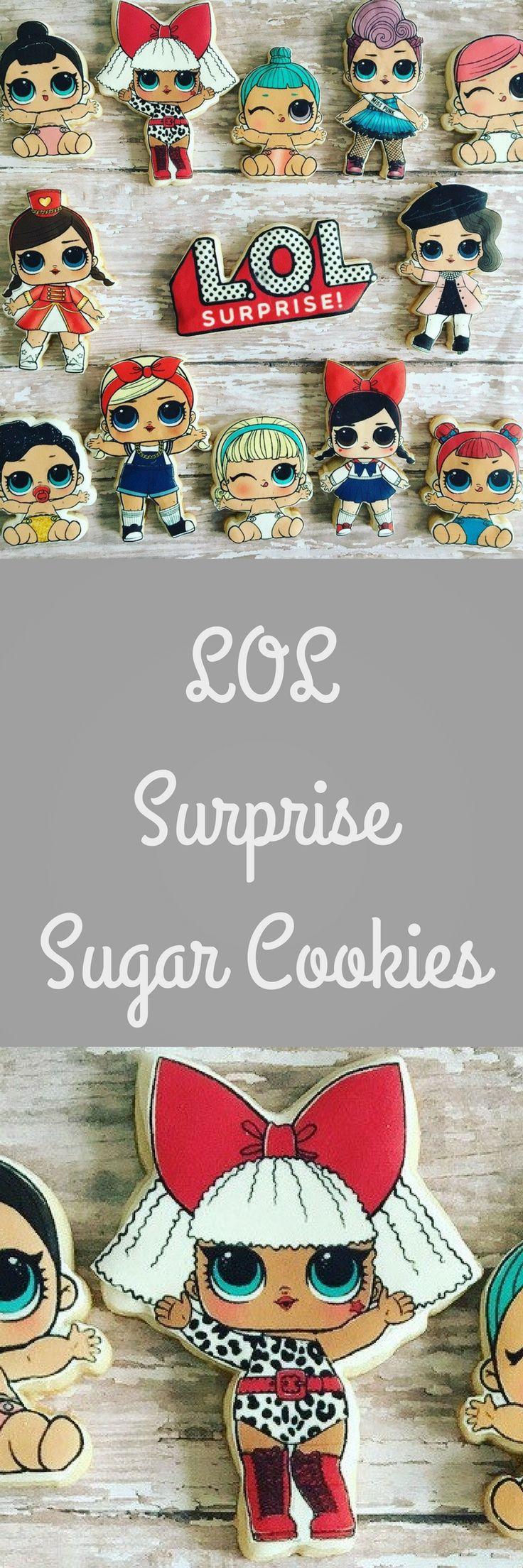 LOL surprise sugar cookies #affiliate