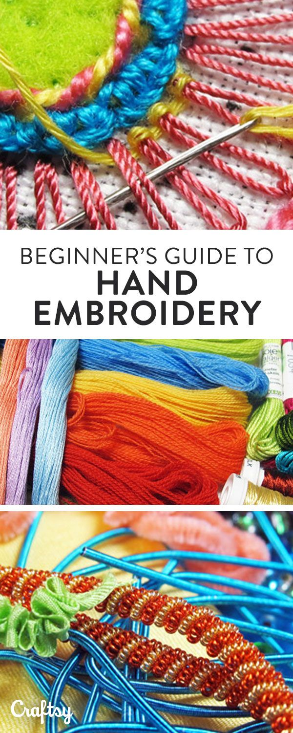 From picking the right needles and thread to step-by-step tutorials for 10 fundamental stitches, learn the essentials every embroiderer needs to know.