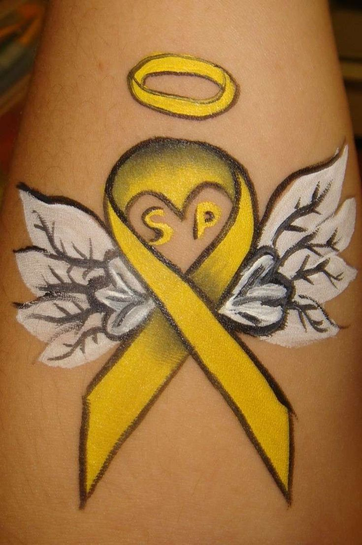 best 20 yellow ribbon tattoos ideas on pinterest. Black Bedroom Furniture Sets. Home Design Ideas