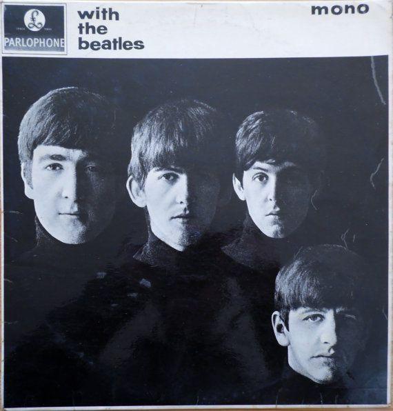 BEATLES With The Beatles 1963 UK 2nd Press Mono Gotta Vinyl 33 rpm LP Album Record Beat Pop 60s Rock Lennon Mccartney pmc1206 - Free s&h