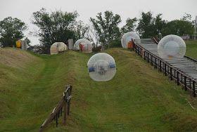 #Gatlinburg, Tennessee: Experience the thrill of ZORB - #SmokyMountains http://www.diamondrentals.com/