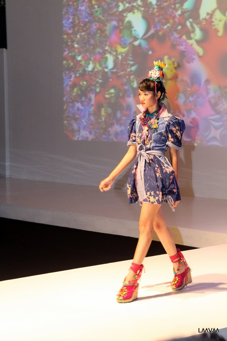 Pictures from the runway at 2012 Indonesia Fashion Week day 2