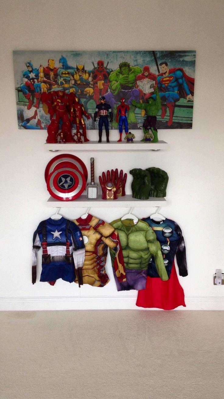 Die besten 25+ Marvel zimmer Ideen auf Pinterest | Marvel ...