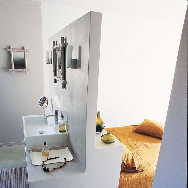 17 meilleures id es propos de t te de lit d 39 images sur - Chambre avec salle de bain ouverte ...