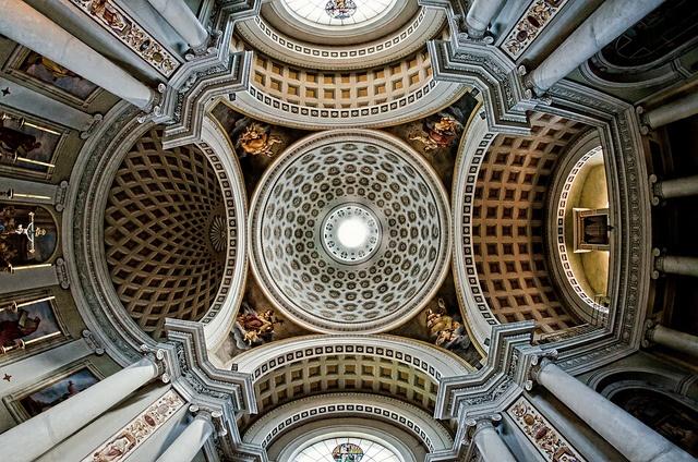 Castiglione del Lago, Chiesa di Santa Maria Maddalena (nave vault), Umbria