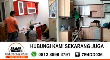 Jasa Pembuatan Kitchen Set Murah Depok: Tukang Bikin Kitchen Set Depok