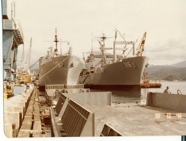SUBIC BAY NAVAL BASE - Dave's been.