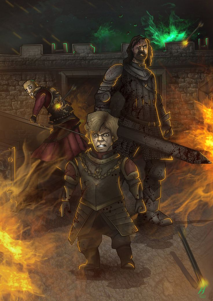 game of thrones The Blackwater Rush artwork | Game of Thrones by MatthewHogben