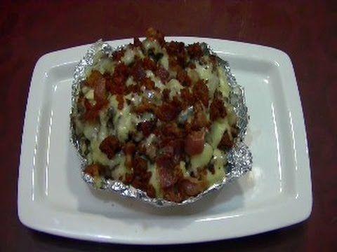 CHUCHEMAN   como hacer papas rellenas de carne asada - Recetas de cocina