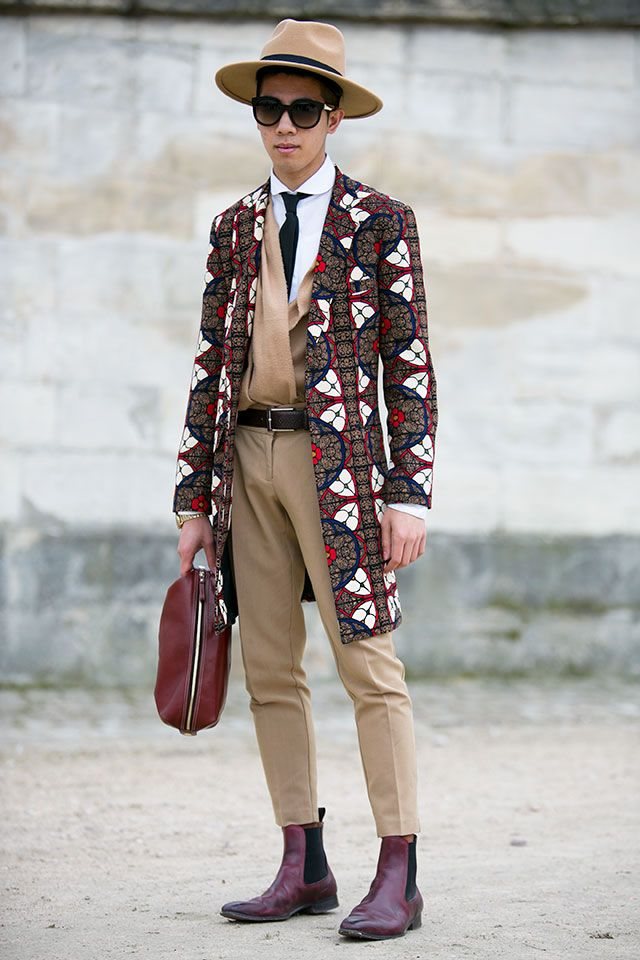 Men's fashion has never looked this good before, Spring Summer street style. Bold, extravagant and we love it!