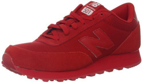 all red new balance 501