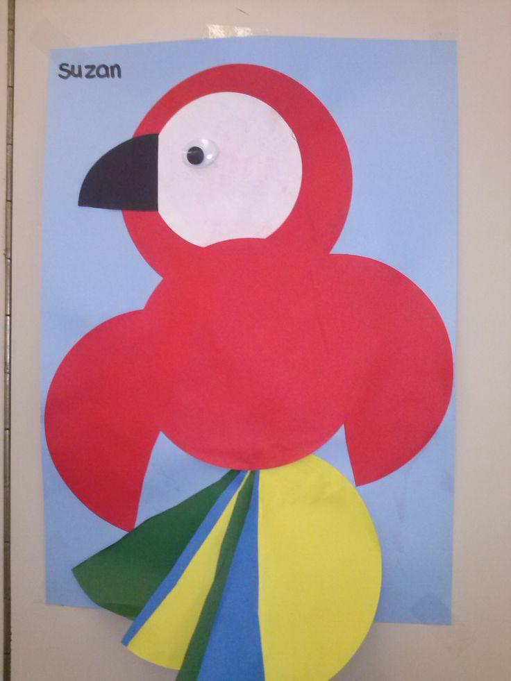 papegaai knutselen