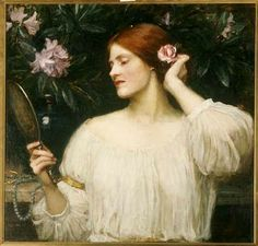 John William Waterhouse - Vanity, c.1908-10