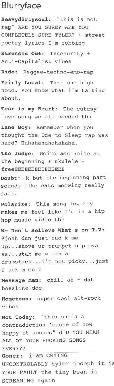 Kitchen Sink Twenty One Pilots Drawing best 25+ blurryface lyrics ideas on pinterest | stressed out
