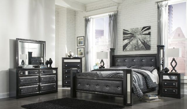 Black Bedroom Set Ashley Furniture House Ideas Decorating