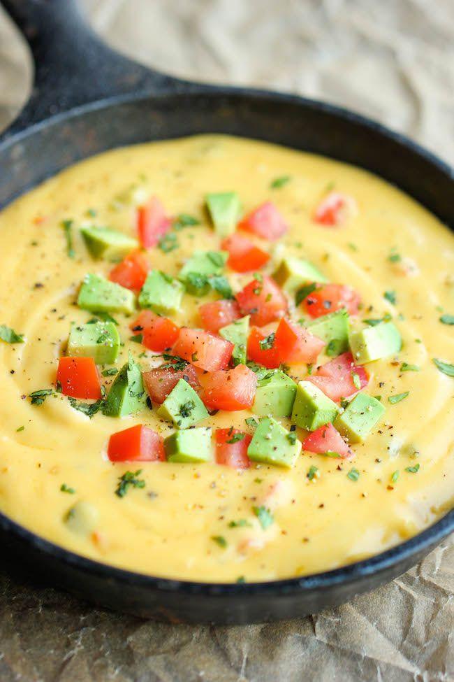 Skinny Queso Dip | Recipe | Homemade, Gluten free and Dip dip