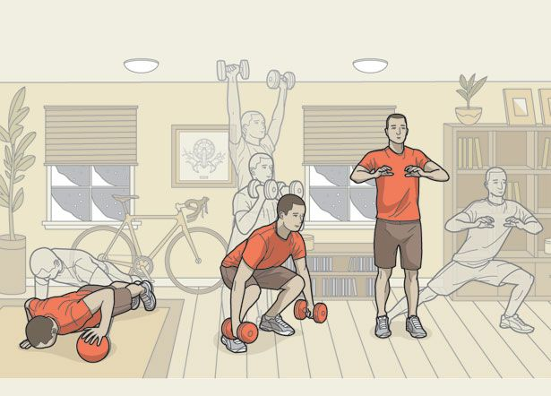 A Time to Build: Strength Exercises for Cyclists in the Off-Season (there's an off season?? but still. Some more stuff to add to my off bike workouts)