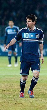 Lionel Messi, Jugando para la Seleccion Argentina