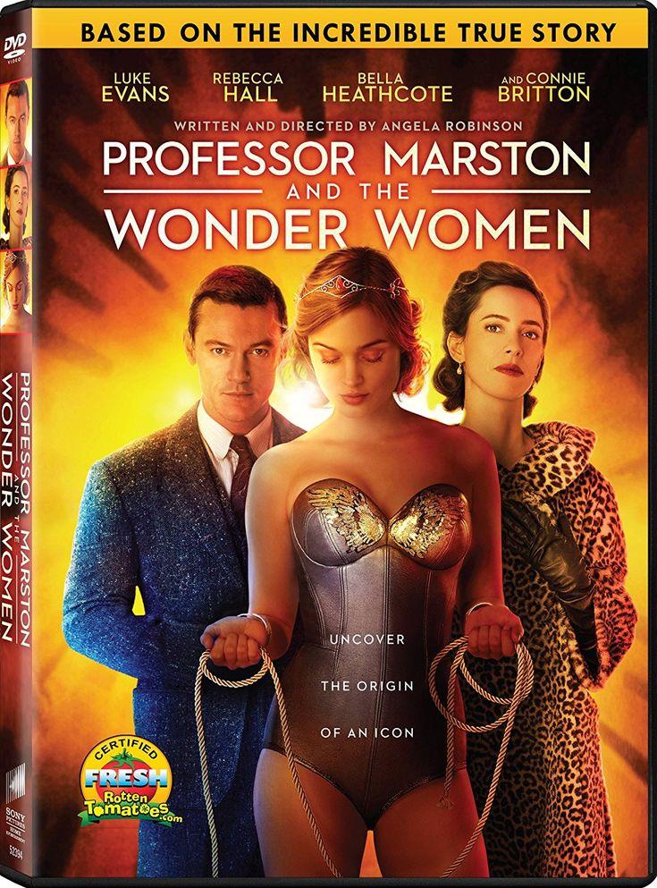 Professor Marston And The Wonder Women Dvd Wonder Woman Movie Wonder Woman Women