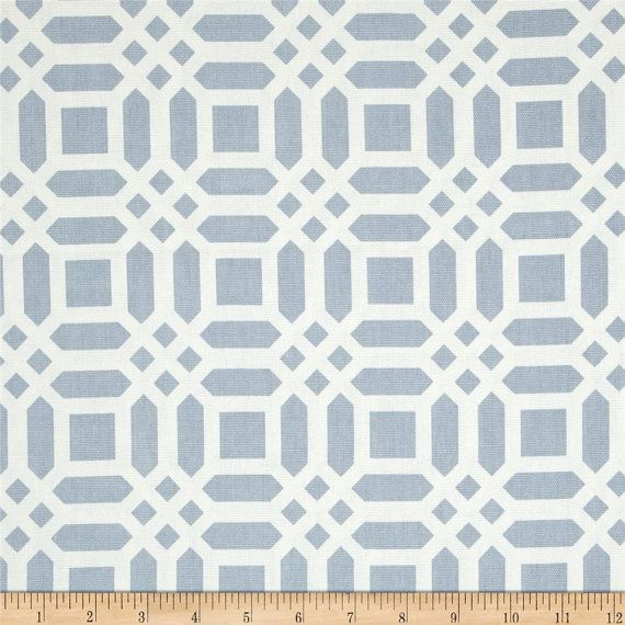 Grey and White Modern Valance Riley Blake by trottersweetpeas