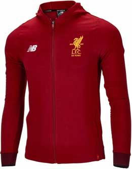 98a5b6217e1 New Balance Kids Liverpool Travel Hoody - Red Pepper
