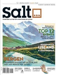 De nieuwe cover van de eerstkomende editie van #SaltMagazine is klaar. 15-16 maart ligt hij op de deurmat van onze abonnees. Wat vinden jullie ervan?