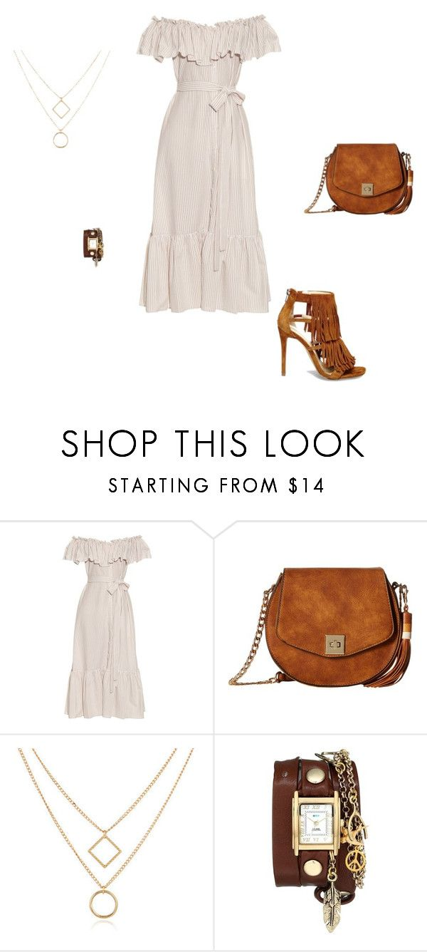 """Untitled #13629"" by explorer-14576312872 ❤ liked on Polyvore featuring Lisa Marie Fernandez, Gabriella Rocha, La Mer and Steve Madden"
