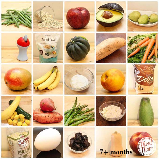 What Kind Of Foods Can Babies Eat At  Months