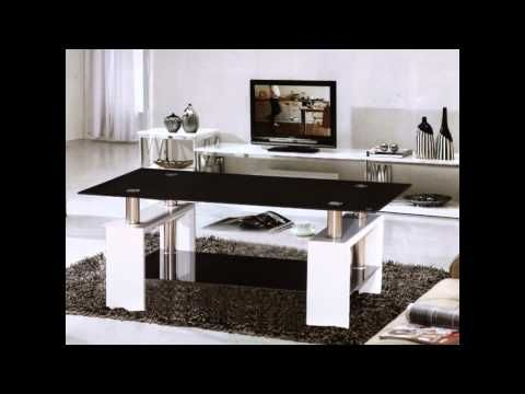 Glass High Gloss Coffee Tables