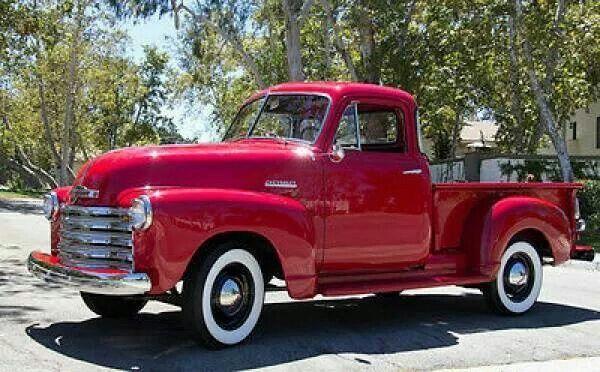 1951 Chevrolet 5 Window Deluxe Pickup Chevroletclassiccars Chevy Trucks Vintage Trucks Vintage Pickup Trucks