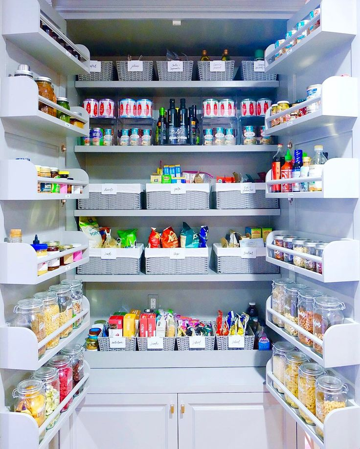 Gwyneth Paltrow's Pantry - Gwyneth Paltrow's Kitchen Organization